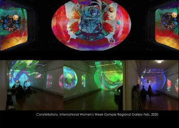 Constellations – International Womens Week, Gympie Regional Gallery 2020