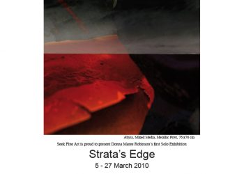 Strata's Edge – Sydney Solo Exhibition and New York Group Exhibition – Out From Down Under and Beyond