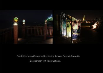 The Gathering and Presence – Public Art Townsville, 2014
